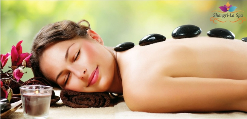 Hot Stone Massage for Relieving Muscle Tension & Pain