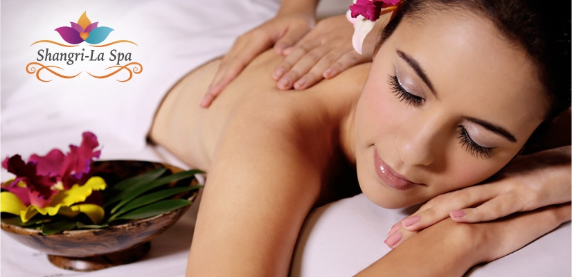 How does a massage spa encourage relaxation ?